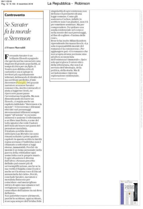 savater_mio_stevenson_recensione